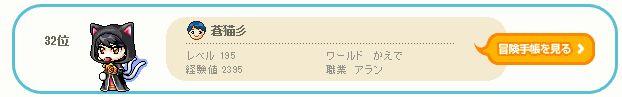 2011.8.1 aran ranking