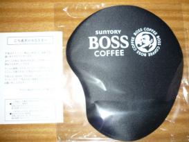 BOSS オリジナル クッションマウスパッド