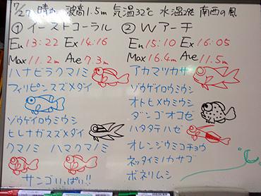 宮古島 ログデータ 2009/7/27