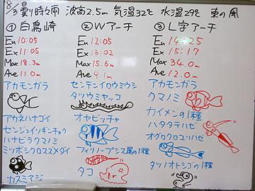 宮古島 ログデータ 2009/8/3