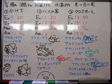 宮古島 ログデータ 2009/8/4