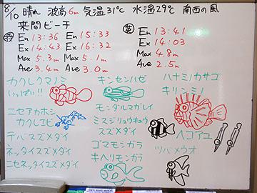 宮古島 ログデータ 2009/8/10