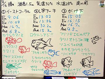 宮古島 ログデータ 2009/8/14