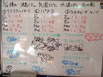 宮古島 ログデータ 2009/8/28