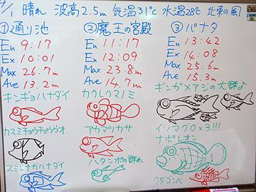宮古島 ログデータ 2009/9/1