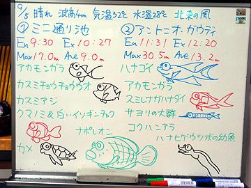 宮古島 ログデータ 2009/9/5
