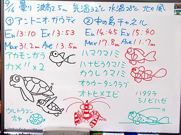 宮古島 ログデータ 2009/9/16