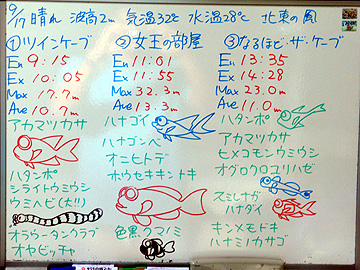 宮古島 ログデータ 2009/9/17