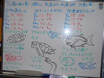宮古島 ログデータ 2009/9/19