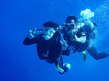 宮古島 中の島湾 体験ダイビング