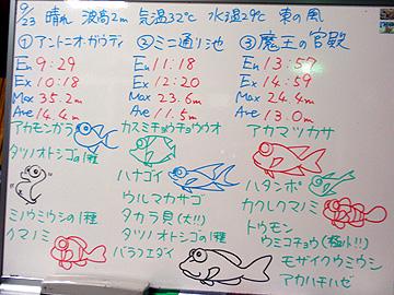 宮古島 ログデータ 2009/9/23
