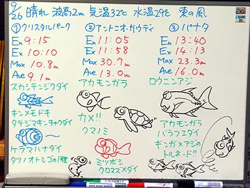 宮古島 ログデータ 2009/9/26