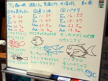宮古島 ログデータ 2009/10/13
