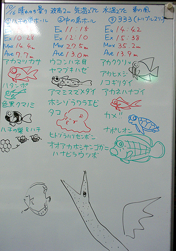 宮古島 ログデータ 2009/10/16