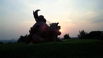 宮古島 カママ嶺公園 シーサー