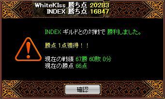 INDEX戦結果3