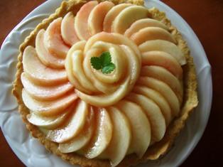 桃タルト1