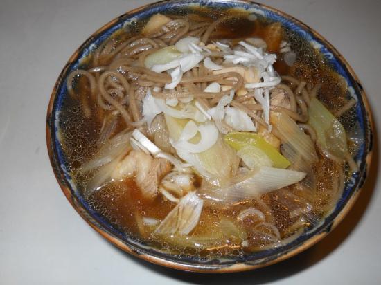 鶏南蛮そば (3)