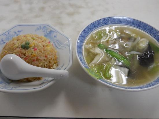 万福半ちゃん&野菜スープ (1)