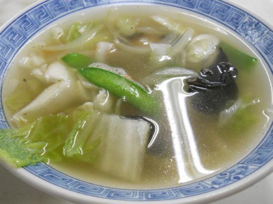万福半ちゃん&野菜スープ (2)