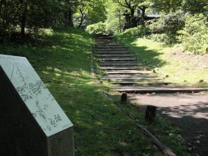 馬返しの階段