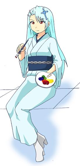 奇異太郎少年の妖怪絵日記 雪母