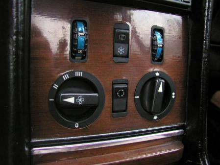 R107 500SL エアコン