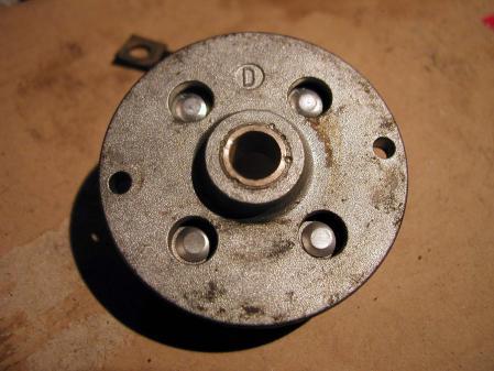 セルモーター軸受け修理