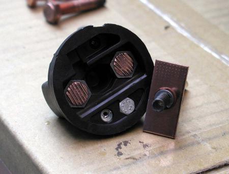 セルモーター修理 マグネットスイッチ