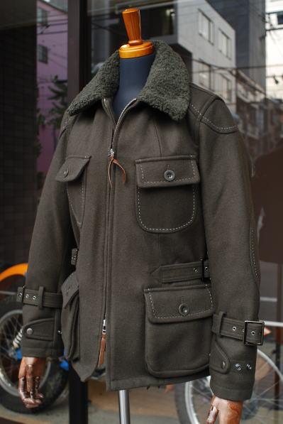 MFJ-1645/ウインターハンドステッチジャケット