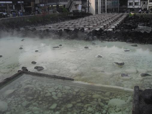 11 草津温泉・湯畑