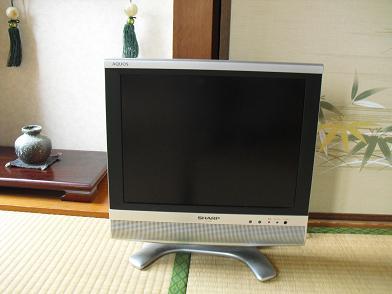 1 和室のアナログTV