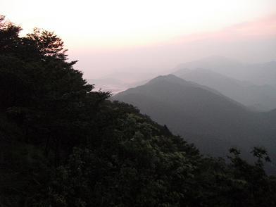 2  高見山登山途中