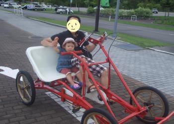 グリンピア 自転車
