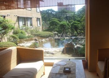一の松 庭