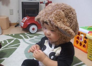 メリー帽。横