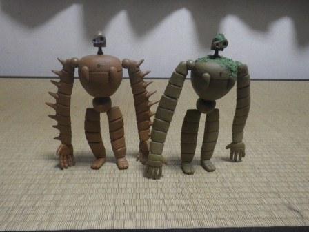 ロボット兵2体