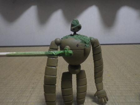 ロボット兵 草