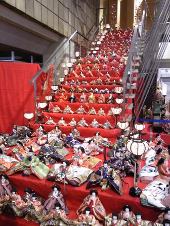 雛祭り階段