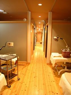 鍼灸スペース~入口