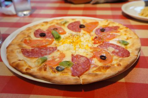 お花のピザ