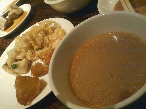 ピリ辛スープ他