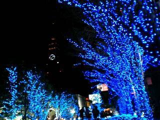 新宿ライトアップ