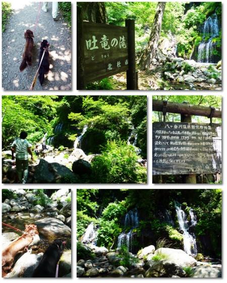 page吐竜の滝
