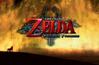 ゼルダの伝説 TwilightPrincess スタート画面