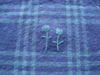 ブラックウオッチ 刺繍