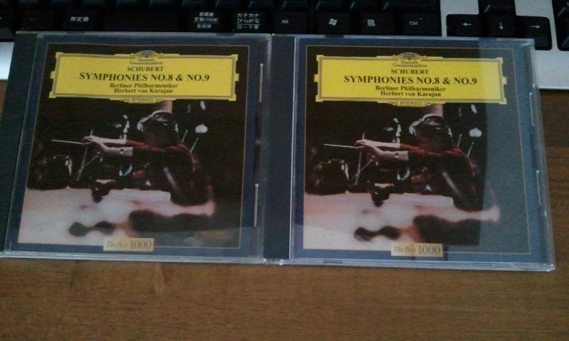 シューベルト 交響曲第8番《未完成》&第9番《ザ・グレート》 /カラヤン