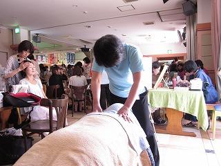 肩の筋肉の調整