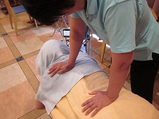 背中と腰の筋肉の調整
