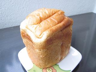 食パンのよい香りがします。